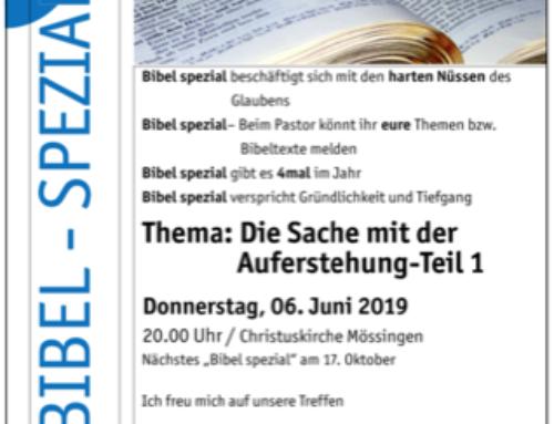 Bibel-Spezial