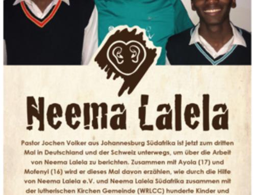 BARMHERZIG ZUHÖREN  heißt Neema Lalela