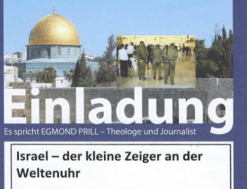 Israel – der kleine Zeiger an der Weltenuhr