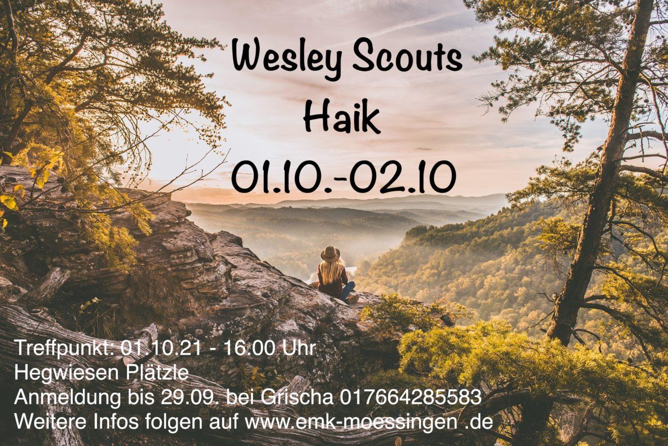 WesleyScouts Haik